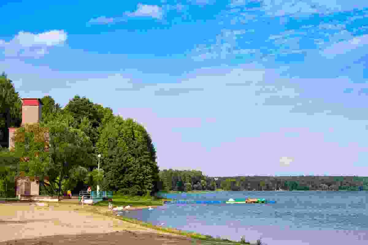 Naroch Lake is landlocked Belarus's largest (Shutterstock)