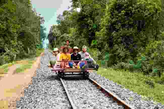 The bamboo train (Alex Robinson)