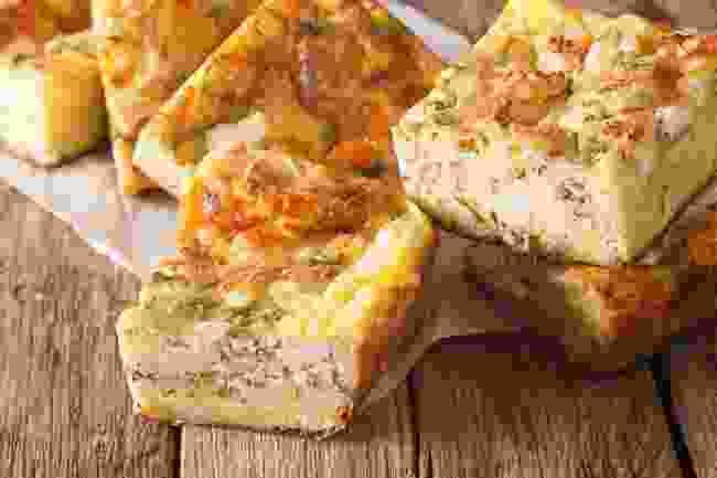 Slices of gibanica (Shutterstock)
