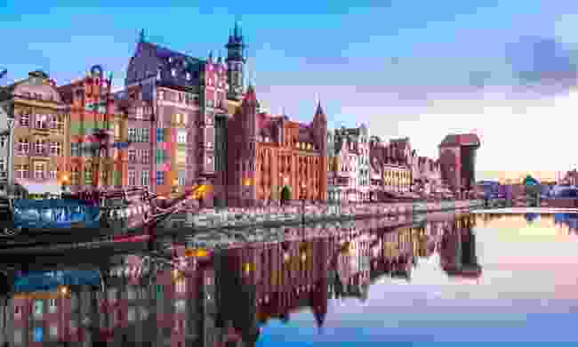 Walk the colourful streets of Gdańsk, Poland (Shutterstock)