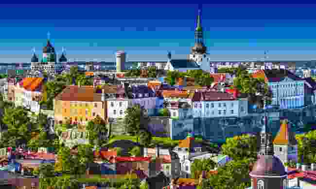 Tallinn's famous Old Town (Shutterstock)