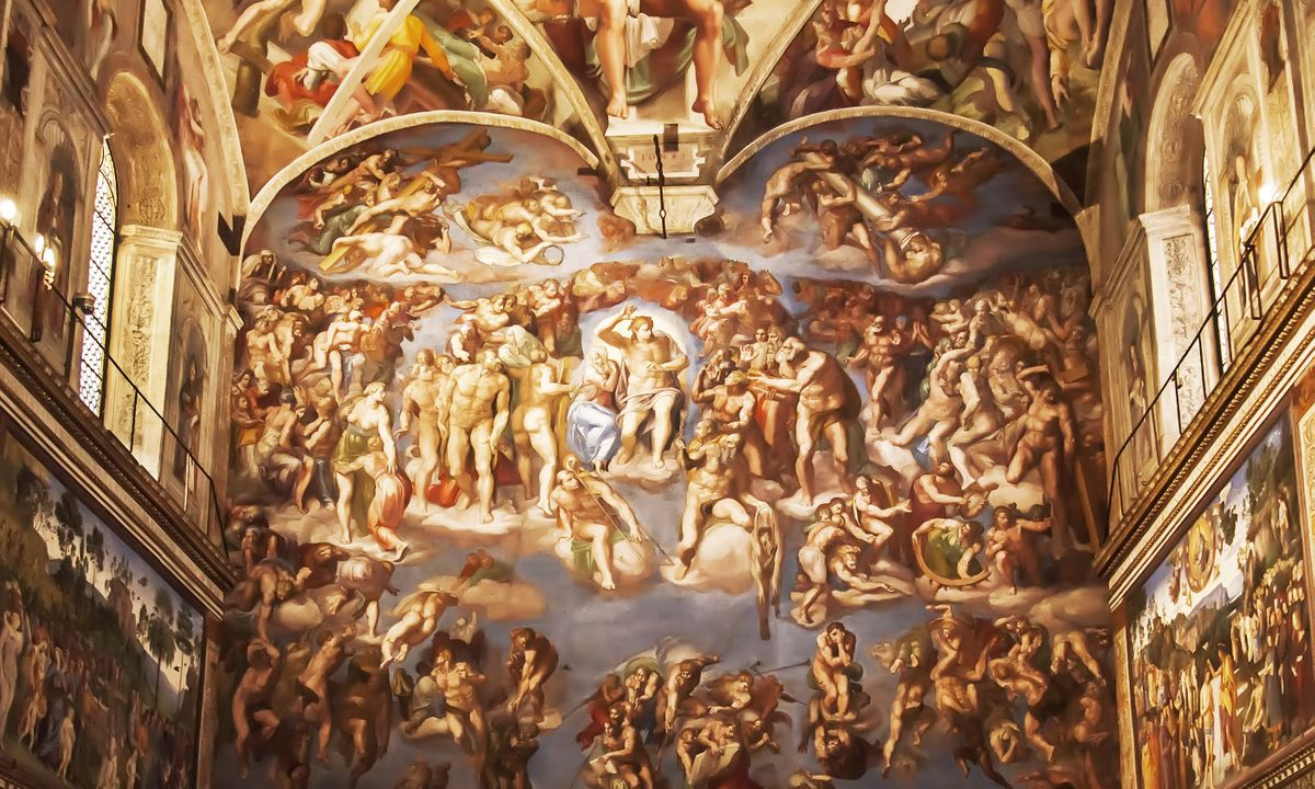 Inside the Sistine Chapel (Shutterstock)