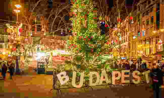 Budapest at Christmas (Shutterstock)