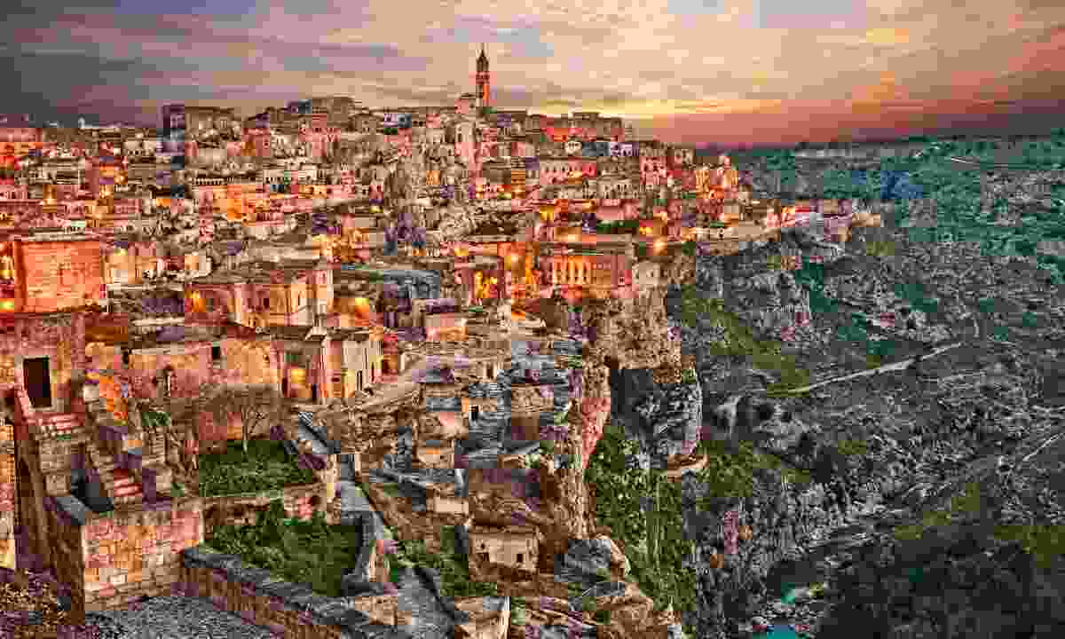 Matera was recently crowned as a European City of Culture (Shutterstock)