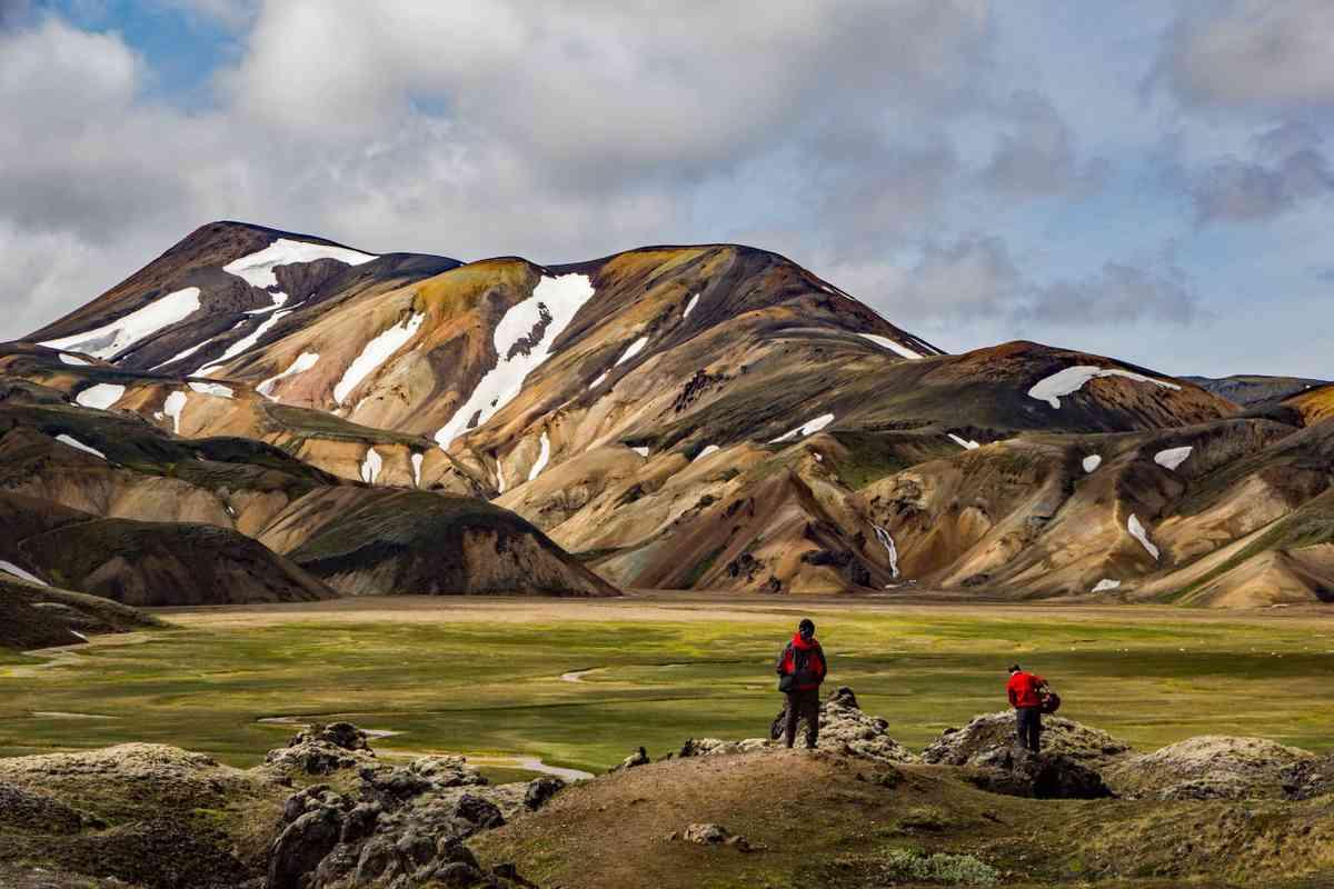 Along the Laugavegur hike, Iceland. (Shutterstock)