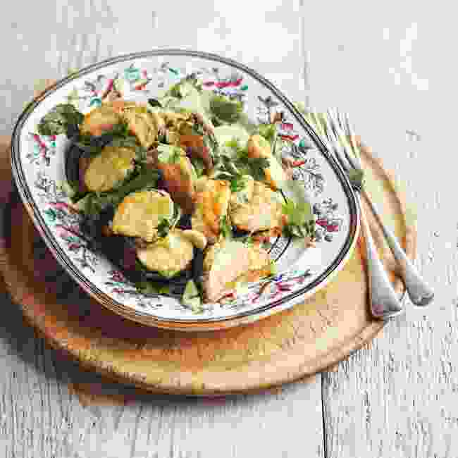 Courgette fritters are a real treat, especially around Lent (Jamie Orlando Smith)