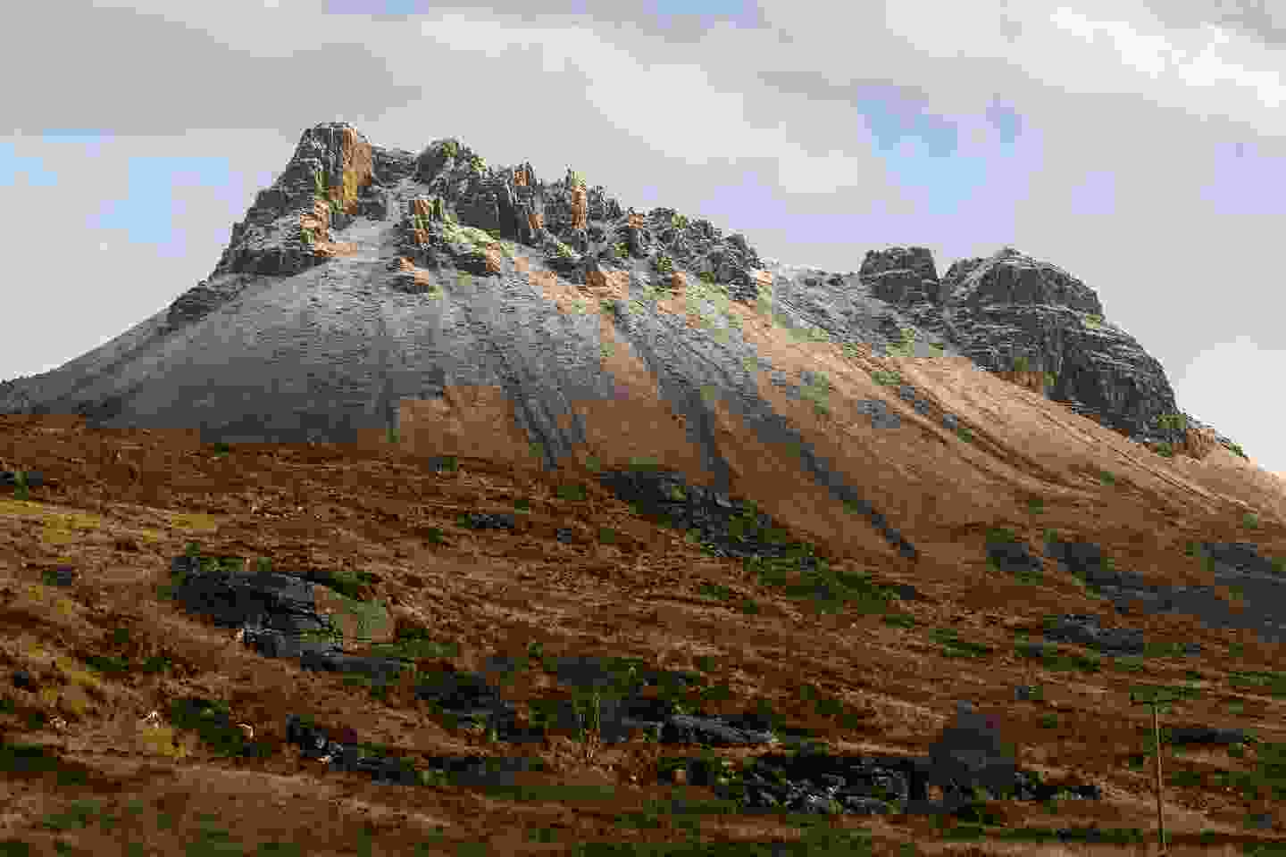 Stac Polly (Pollaidh) in the Highlands (Shutterstock)