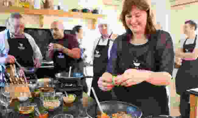 Group cooking class (The Cooking Academy Ltd)