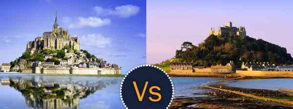 Mont-Saint-Michel in France or St Michael's Mount in Cornwall - which is better?