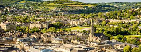 The view of Bath from Alexandra Park (Shutterstock)