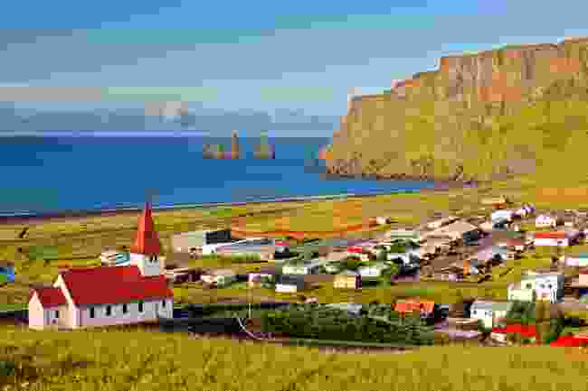 The town of Vik, Iceland (Shutterstock)