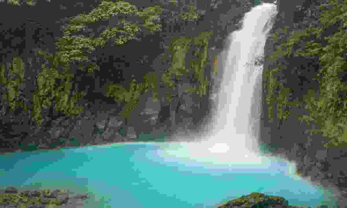 Rio Celeste waterfall (Dreamstime)