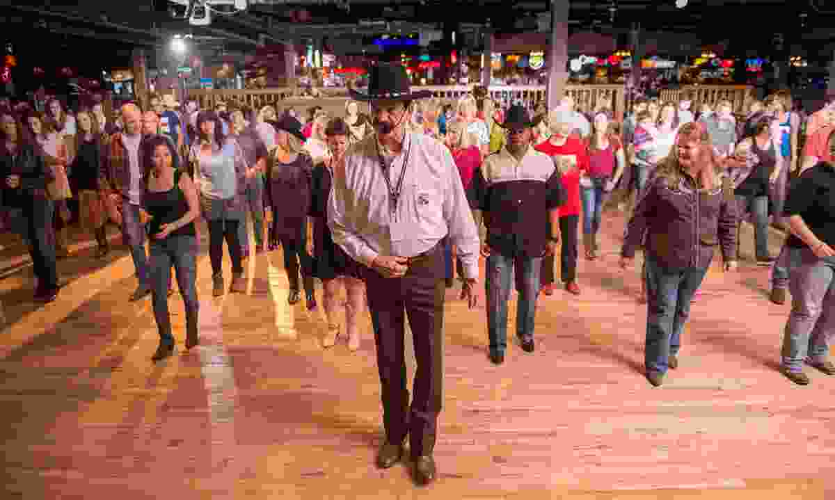 Line dancing at Billy Bob's, Texas (Visit Fort Worth)