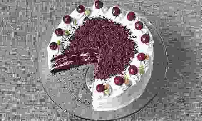 Black Forest Cake from 'The German Cookbook' by Alfons Schuhbeck (Danielle Acken)