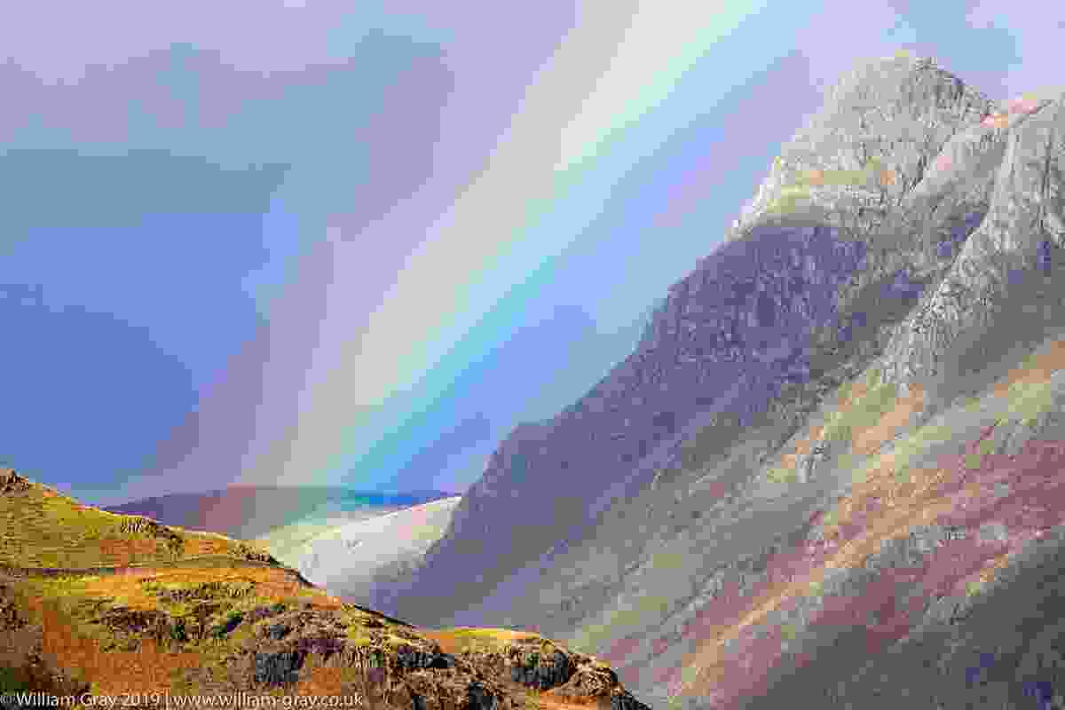 Rainbow over Langdale Valley, Lake District (William Gray)