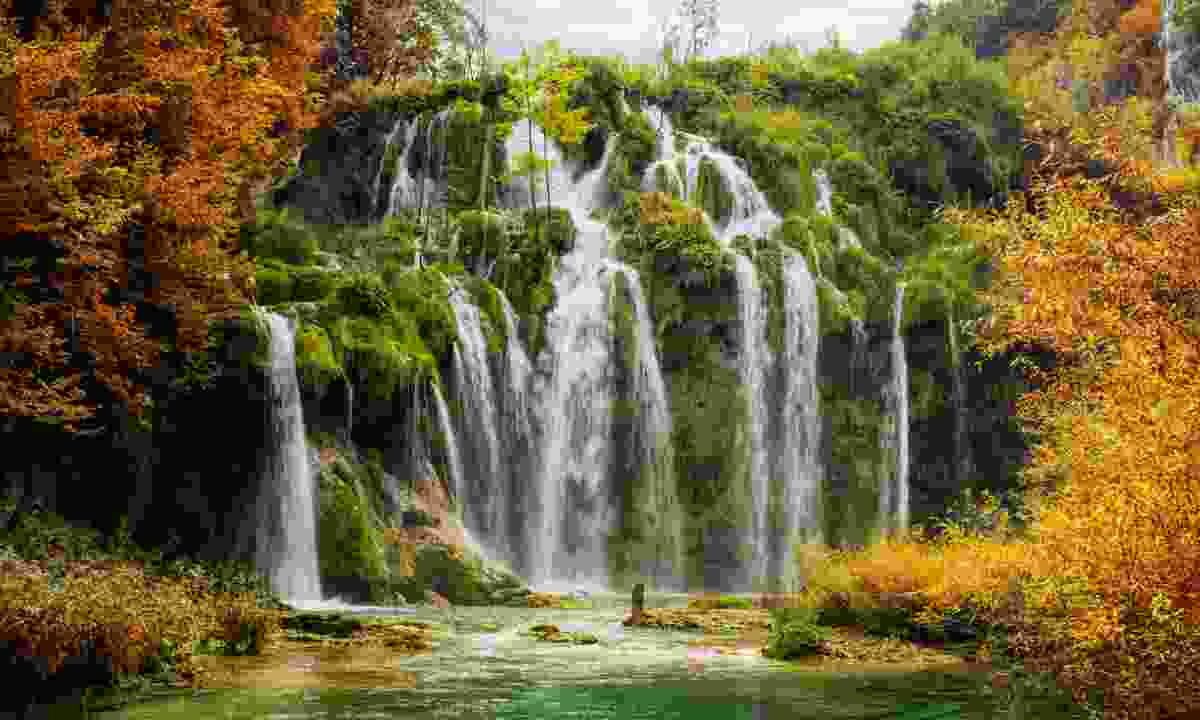 Plitvice Lakes in Autumn (Dreamstime)
