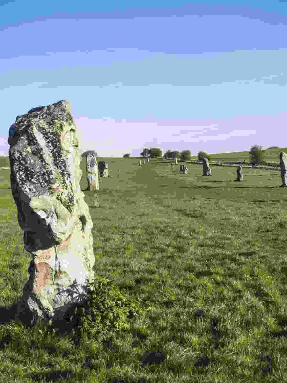 Stone circles in Wiltshire (Jack Thurston)