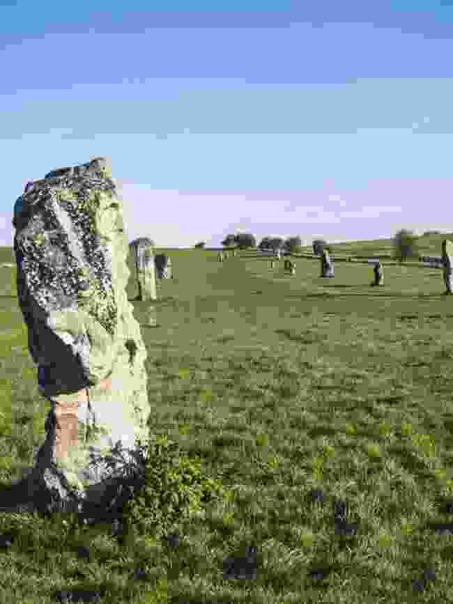 Stone circles in Wiltshire (Jack Thurston)