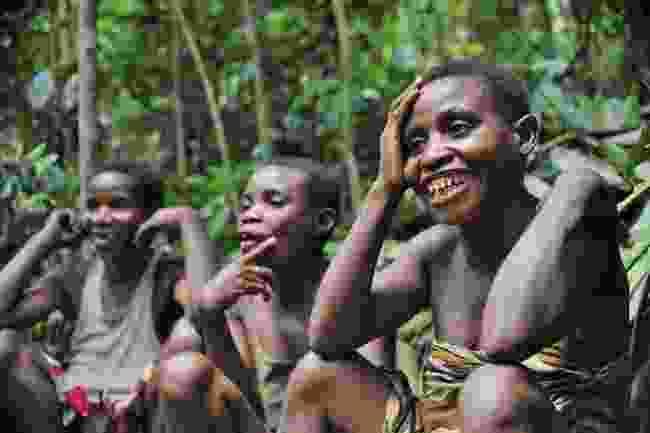 A Pygmy community in the Congo Basin (Shutterstock)