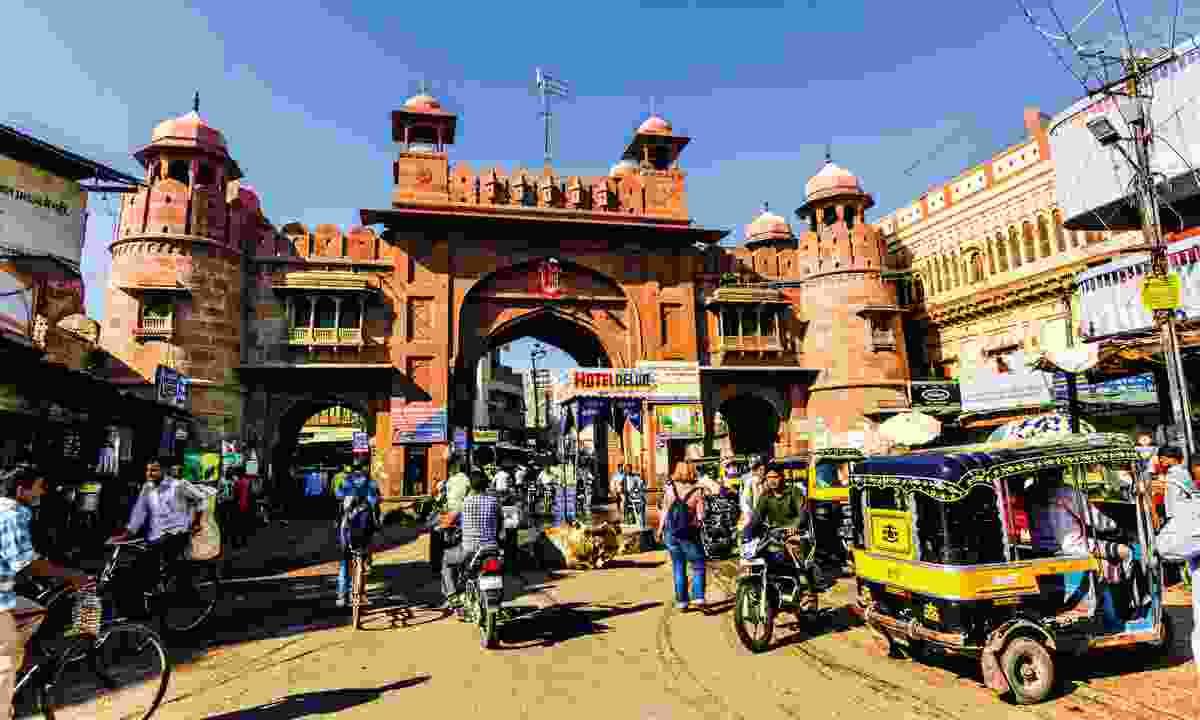 The old city gate at Bikaner (Dreamstime)