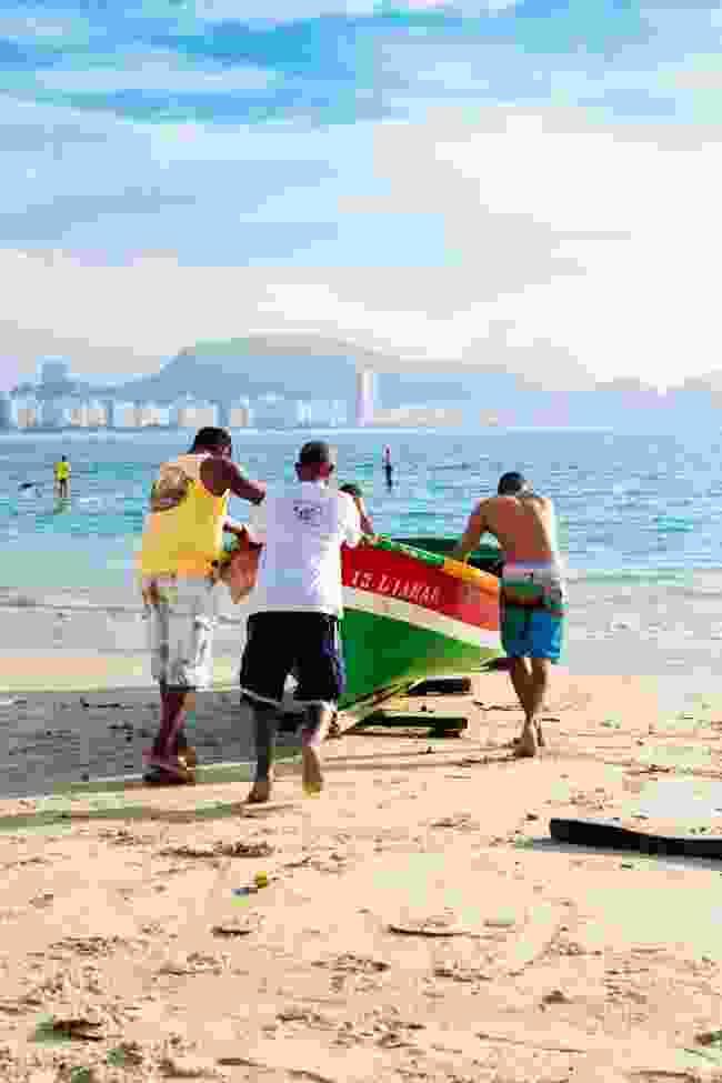 Copacabana's timeless sands (Alex Robinson)