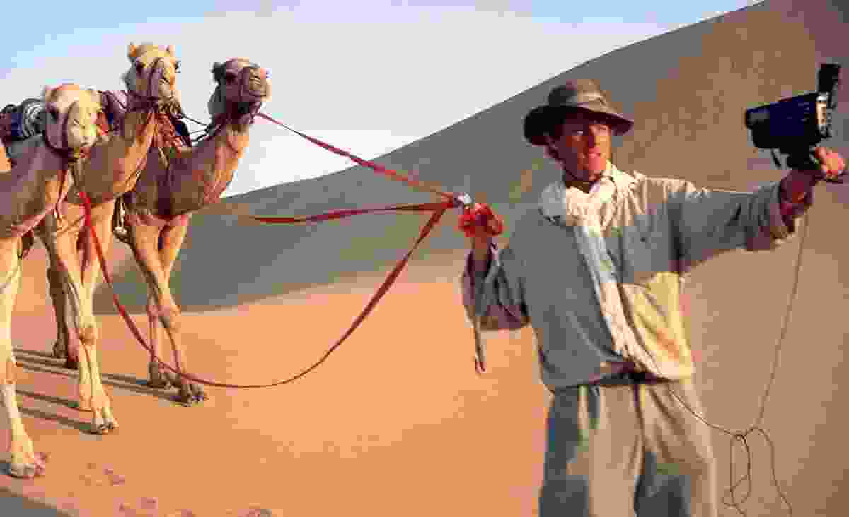 Benedict in the desert (Benedict Allen)