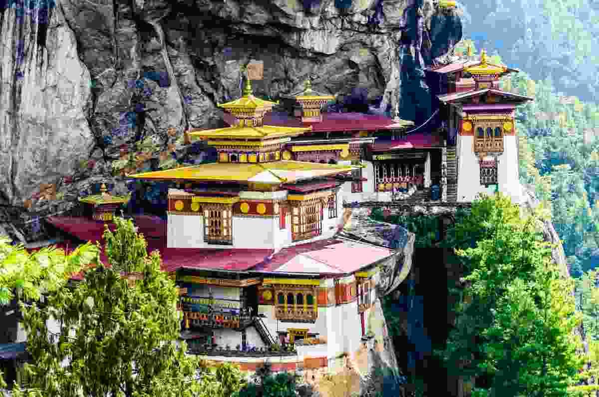 Taktsang Lhakhang Monastery, Bhutan (Shutterstock)