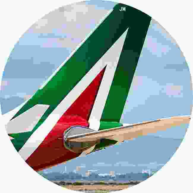 Alitalia. Classic Italian design (Shutterstock)