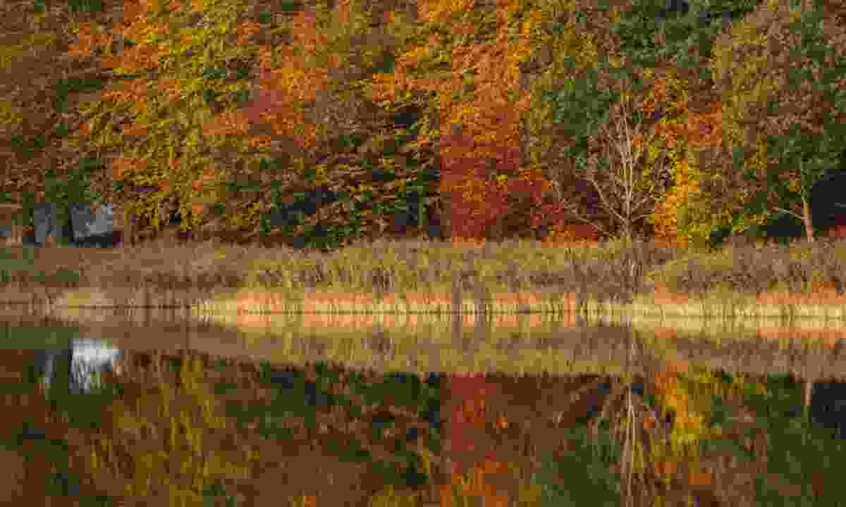 Autumn reflection on the Bickling Estate (National Trust/Justin Minns)