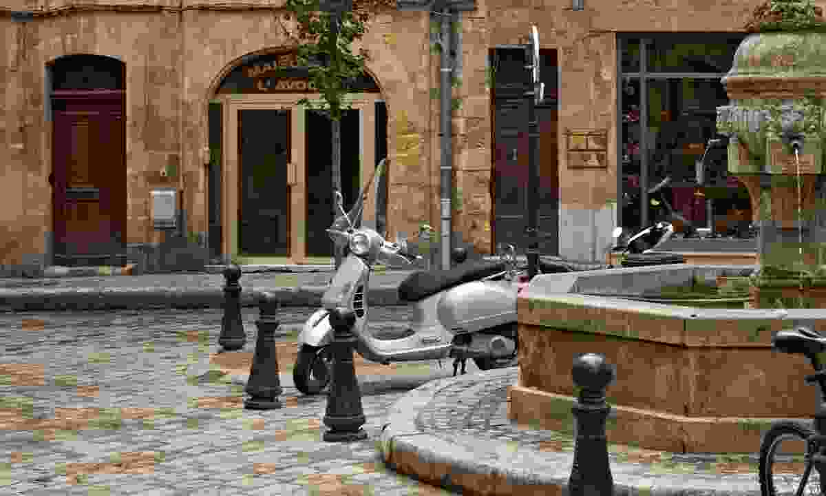 The old centre of Aix en Provence (Dreamstime)