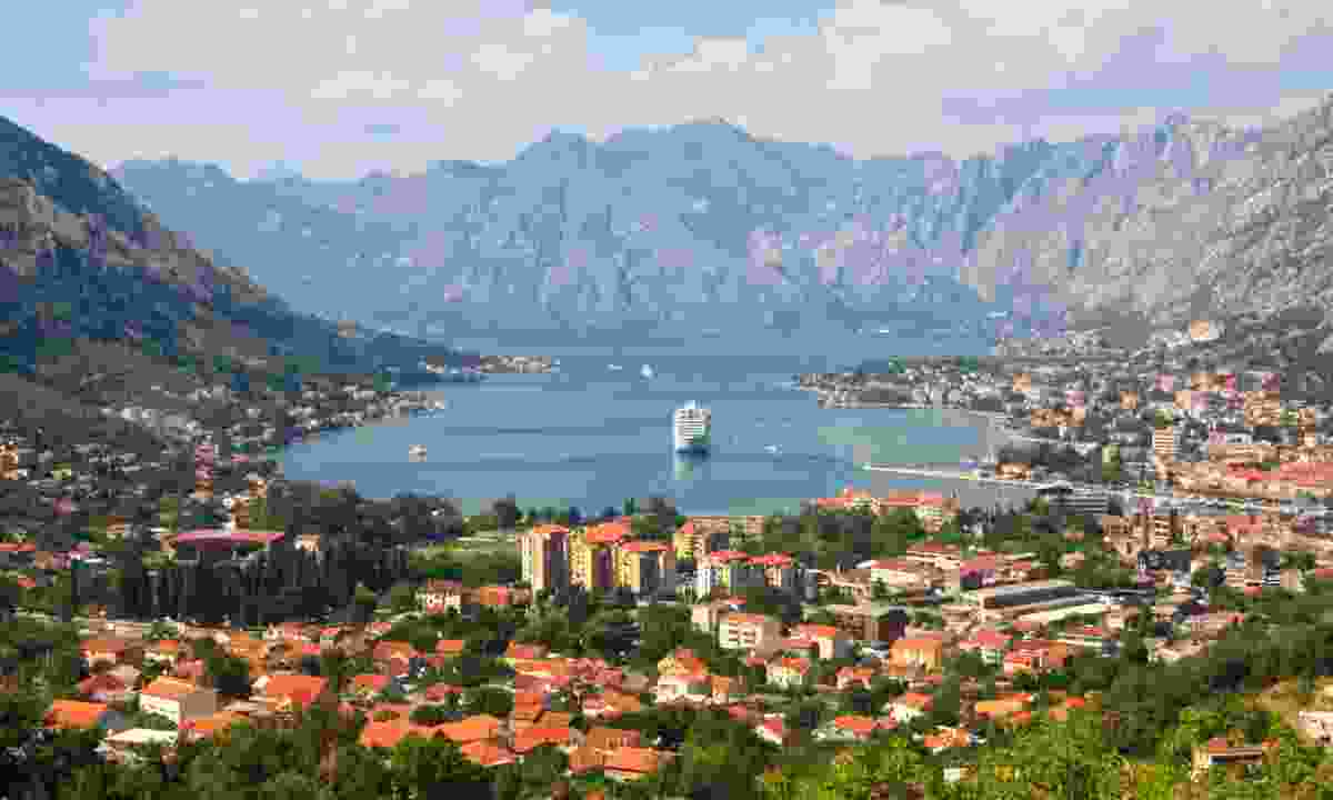 View over the Bay of Kotor (Dreamstime)