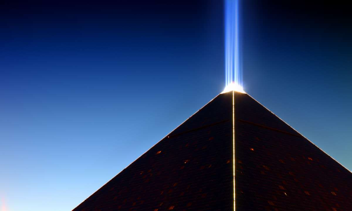 The Luxor Beam (Dreamstime)