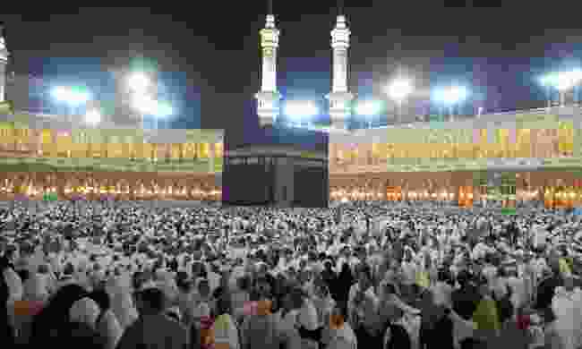 The Kaaba in Masjid al-Haram (Dreamstime)