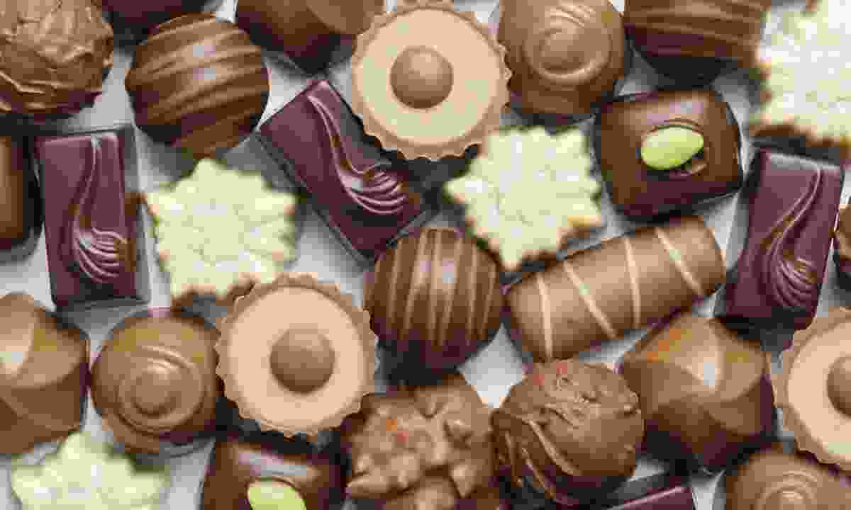 Assorted chocolates (Dreamstime)