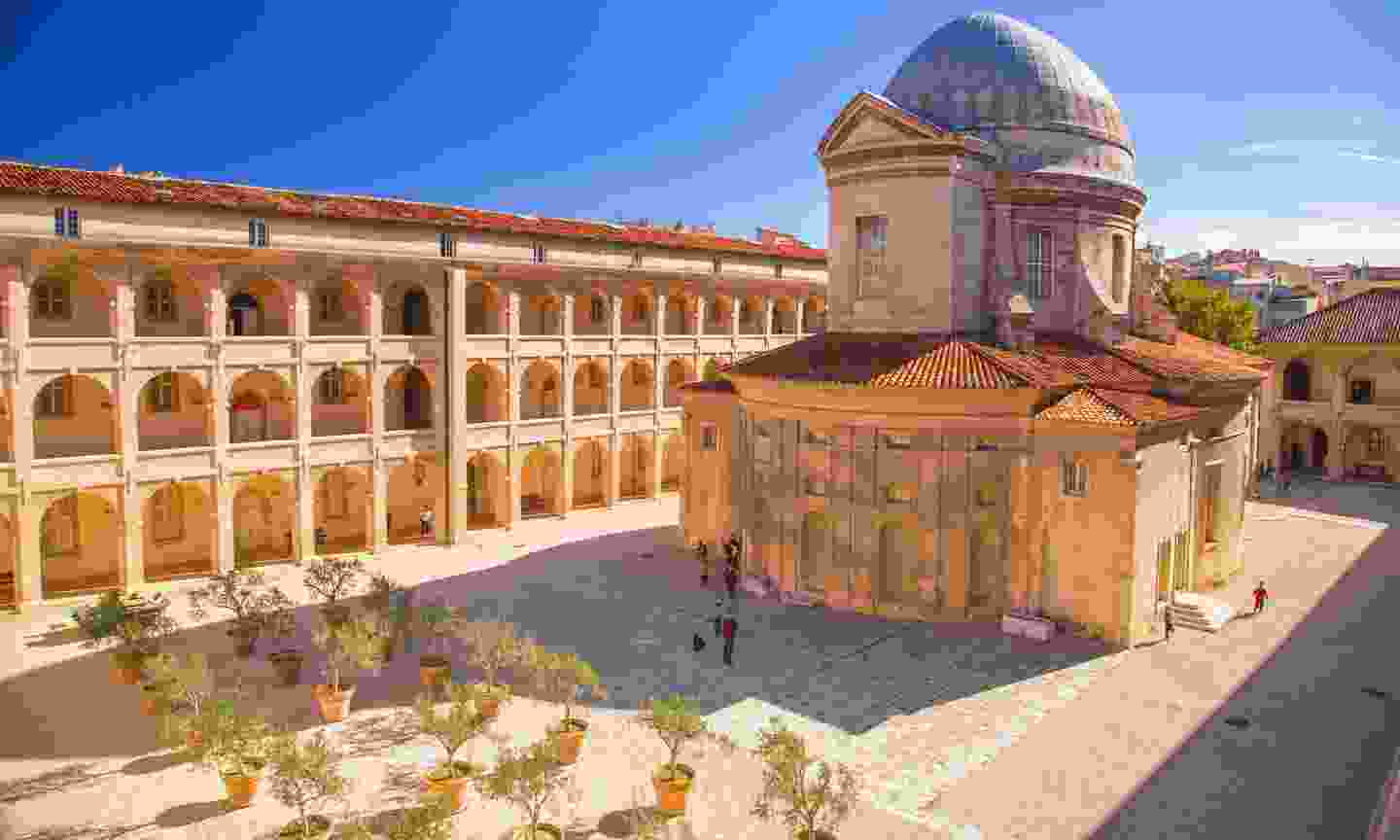 The historic hospital Charite in Marseille (Dreamstime)
