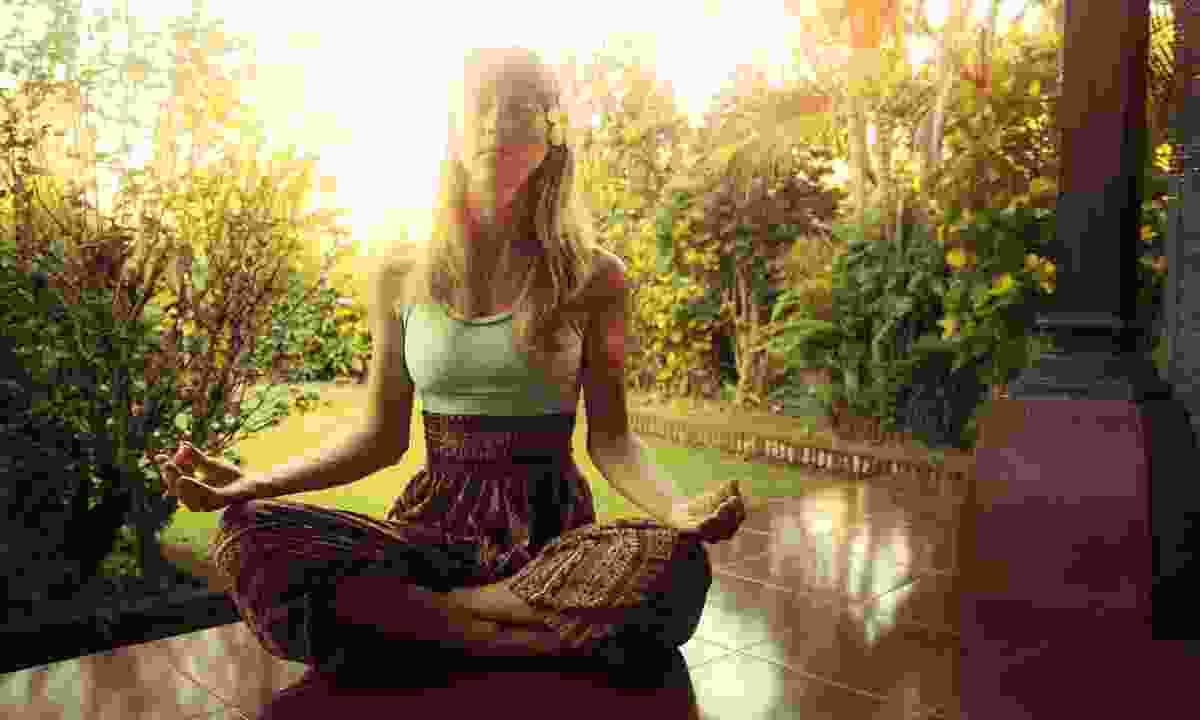 Yoga in Ubud (Dreamstime)
