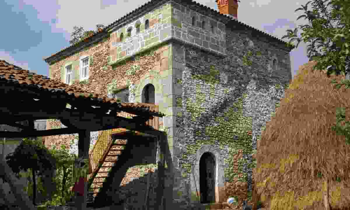 Kulla house in Dranoc, Kosovo (Dreamstime)