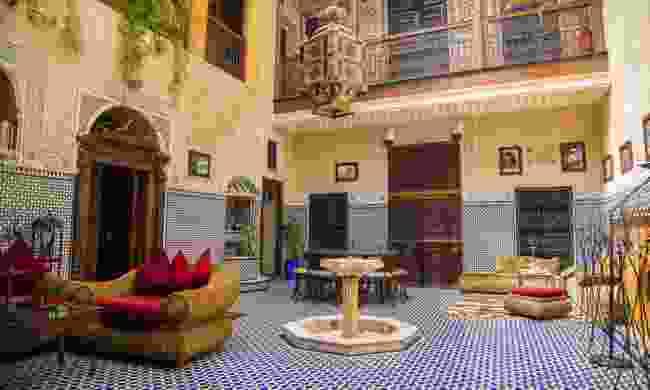 Riad in Marrakesh (Dreamstime)