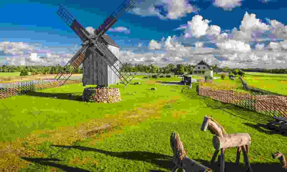 Windmill in Angla, Saaremaa Island (Dreamstime)