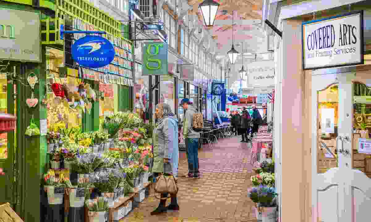 The Covered Market in Oxford (Dreamstime)