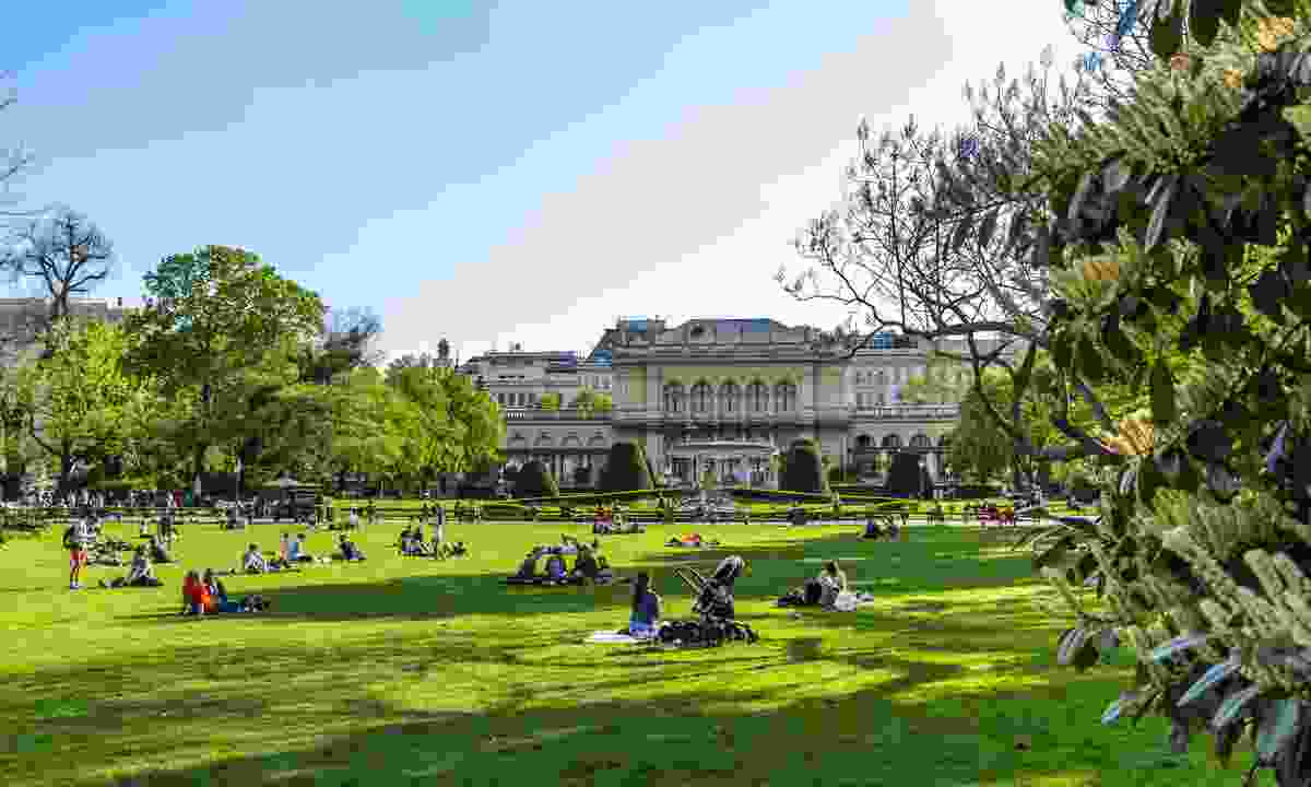 Vienna Stadtpark in spring (Dreamstime)