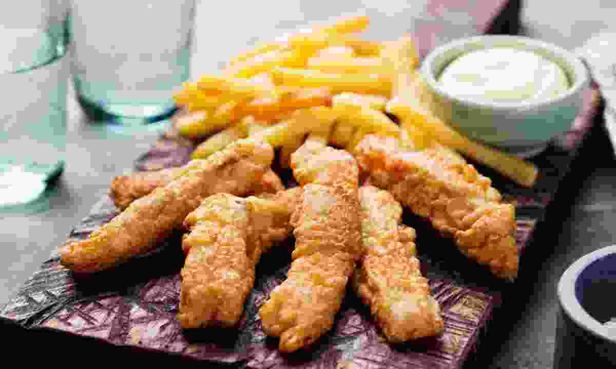 Fish and chips, Dundee style (Dreamstime)