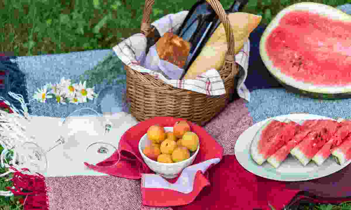 A French picnic (Dreamstime)