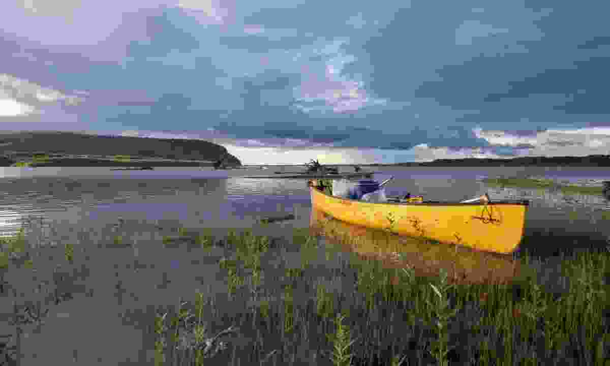 Canoe on the Yukon (Adam Weymouth)
