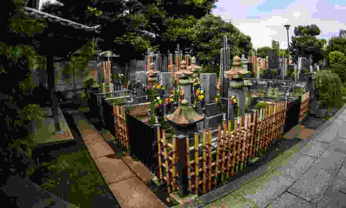 A quiet corner in Yanaka Cemetery (Shutterstock)