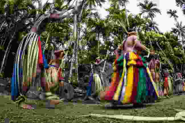 Dancers at a festival in Yap (Shutterstock)
