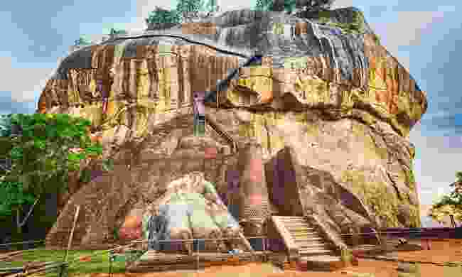 Sgiriya or Lion Rock (Shutterstock)