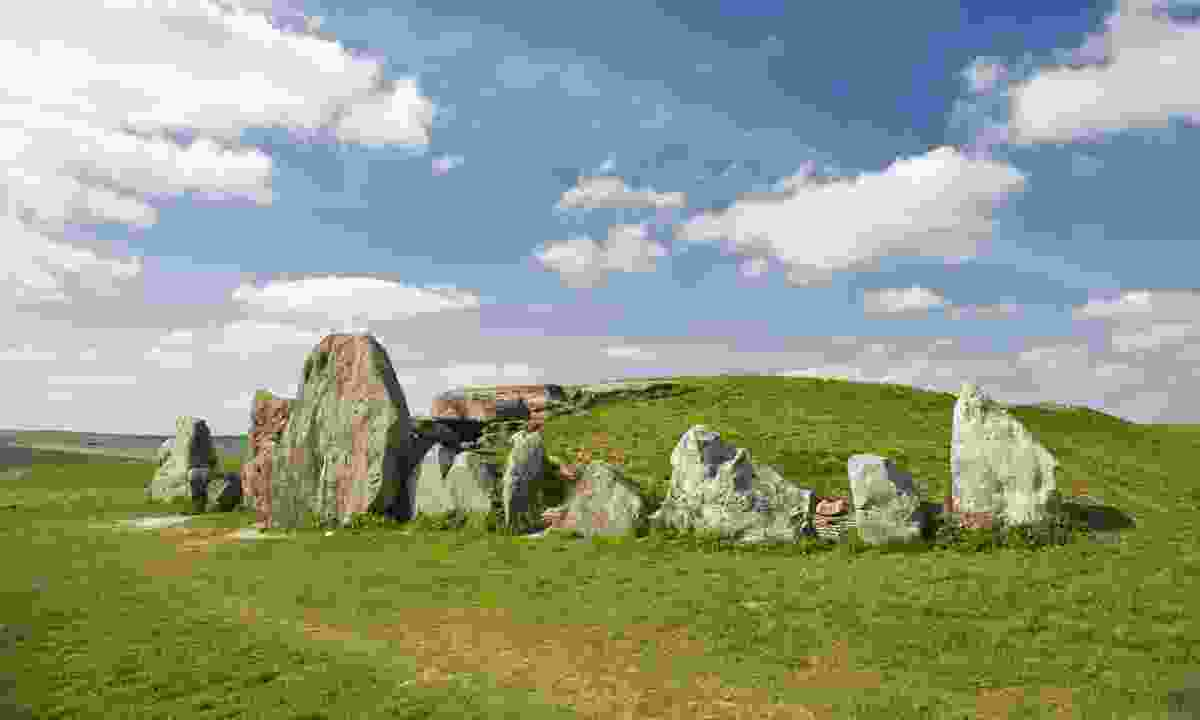 West Kennet Long Barrow stones (Dreamstime)