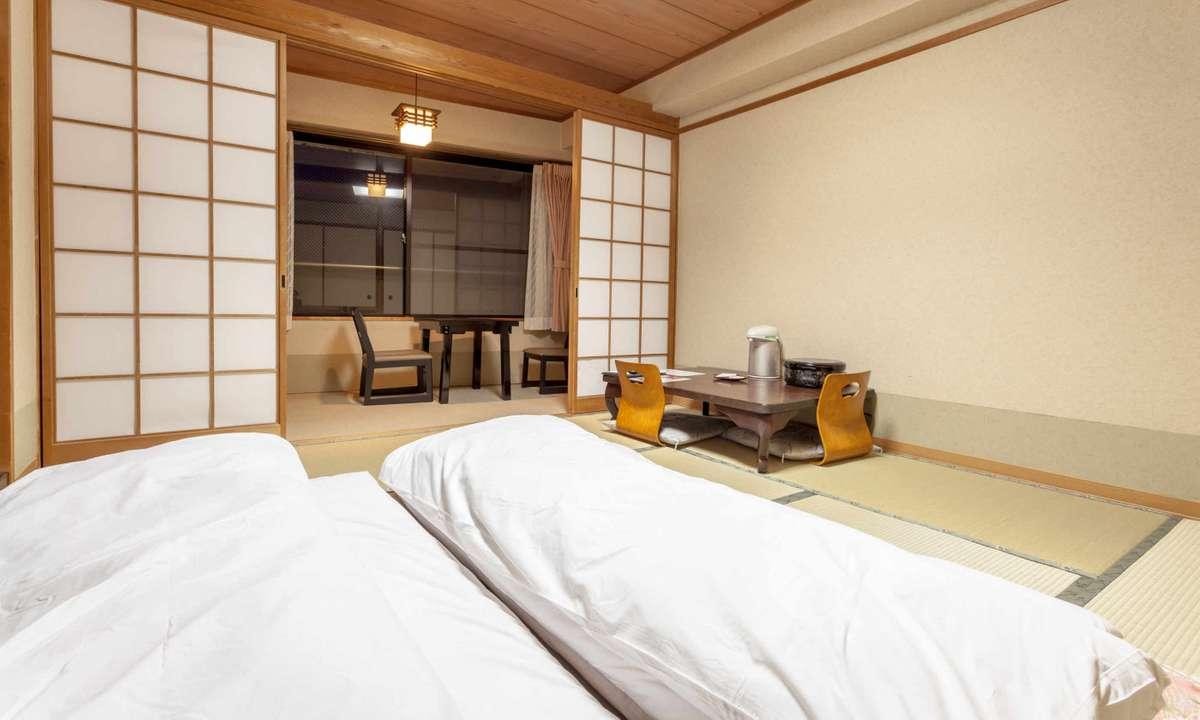 Traditional ryokan room in Japan (Dreamstime)