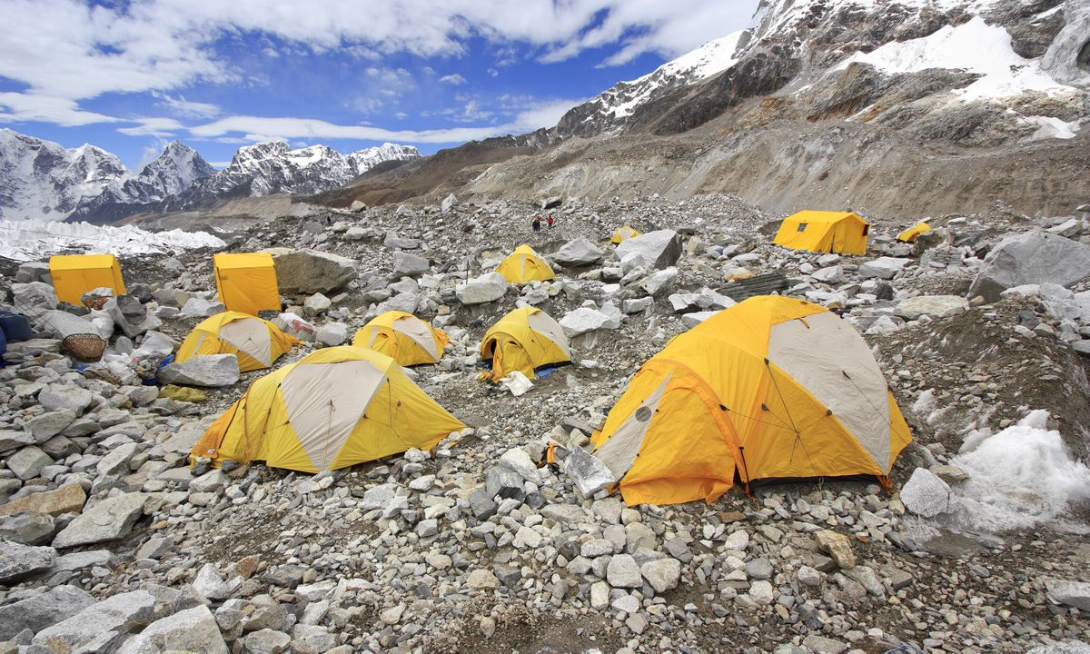 Everest Base Camp (Dreamstime)
